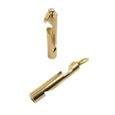 Brass Whistle 2 in 1
