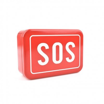 Red Storage Box SOS