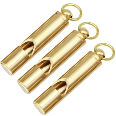 Classic Brass Whistle