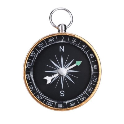 Pocket Compass G44 Brass
